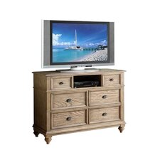 <strong>Riverside Furniture</strong> Coventry Media 5 Drawer Chest