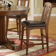 "Craftsman Home 26"" Bar Stool with Cushion"
