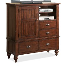 <strong>Riverside Furniture</strong> Castlewood 4 Drawer Media Chest