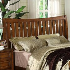 Craftsman Home Slat Headboard