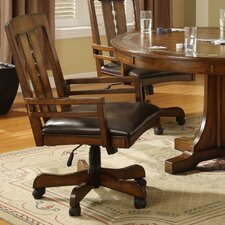 <strong>Riverside Furniture</strong> Craftsman Home Game Chair with Arms