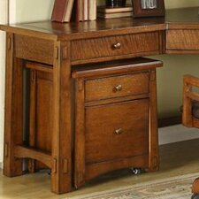 <strong>Riverside Furniture</strong> Craftsman Home Mobile File Cabinet