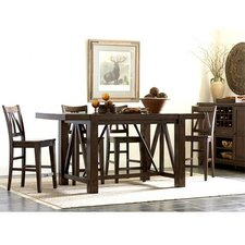 Castlewood 5 Piece Counter Height Dining Set