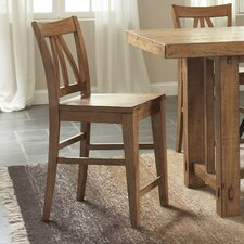 "<strong>Riverside Furniture</strong> Summerhill 24"" Bar Stool (Set of 2)"