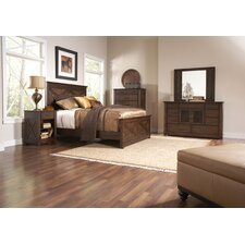 <strong>Riverside Furniture</strong> Windridge Queen Panel Bedroom Collection