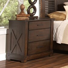 Windridge 3 Drawer Nightstand