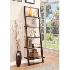 Lean Living Leaning Bookcase
