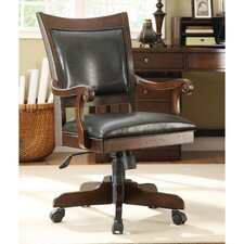 <strong>Riverside Furniture</strong> Castlewood Mid-Back Desk Chair with Arm