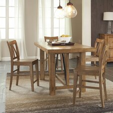 <strong>Riverside Furniture</strong> Summerhill Gathering 5 Piece Counter Height Dining Set