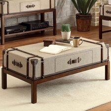 <strong>Riverside Furniture</strong> Bon Voyage Suitcase Coffee Table