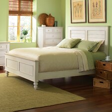 <strong>Riverside Furniture</strong> Placid Cove Louver Panel Bed