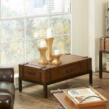 <strong>Riverside Furniture</strong> Latitudes Suitcase Coffee Table