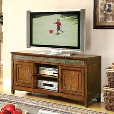 "<strong>Riverside Furniture</strong> Craftsman Home 60"" TV Stand"