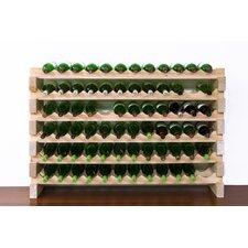 72 Bottle Tabletop Wine Rack