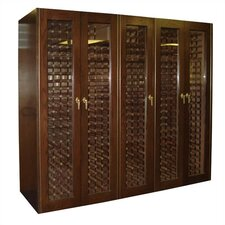 1500G Oak Wine Cooler Cabinet