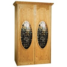 700 Napoleon Oak Wine Cooler Cabinet