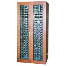 <strong>Vinotemp</strong> 440 Two Door Oak Wine Cooler Cabinet with Thermal Glass