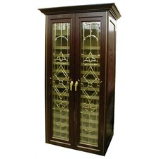 <strong>Vinotemp</strong> 440 Two Door Bonaparte Oak Wine Cooler Cabinet