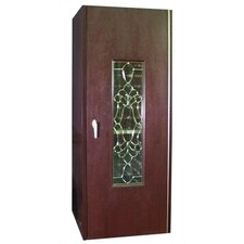 <strong>Vinotemp</strong> 250 Beveled Glass Oak Wine Cooler Cabinet