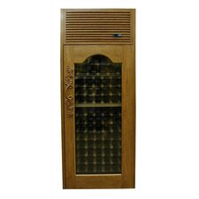 <strong>Vinotemp</strong> 250 Furniture Trim Oak Wine Cooler Cabinet with Front Exhaust