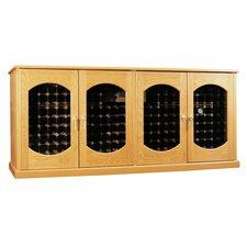 Oak Wine Cooler Credenza Lexington