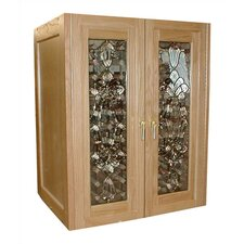 Bonaparte 2 Door Oak Wine Cooler Cabinet