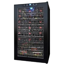 34 Bottle Single Zone Wine Refrigerator