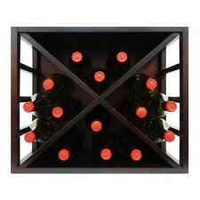 Epicureanist Stackable Diamond Wine Rack