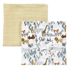 Safari Swaddle Blanket (Set of 2)