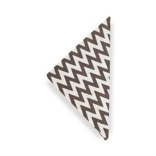 Chevron Charcoal  Napkin (Set of 4)
