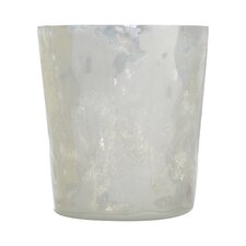 Textured Milk Glass Small Votive