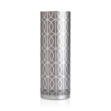 DwellStudio for Stellé Audio Pewter and Silver Bluetooth Speaker