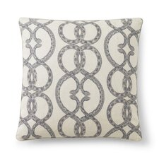 Snake Chain Dove Pillow