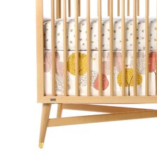 Treetops Canvas Crib Skirt