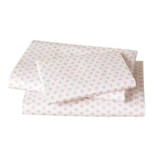 Floral Dot Pale Rose Sheet Set