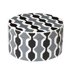 Chelsea Stripe Round Box