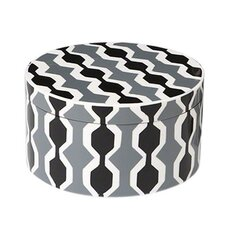 Chelsea Stripe Round Storage Box
