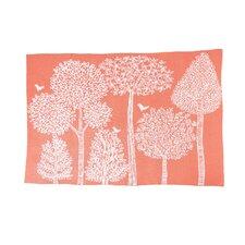 Treetops Knit Blanket