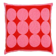 Graphic Dot Spice & Orchid Pillow