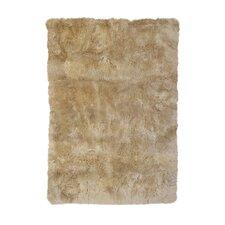 Sheepskin Longwool Linen Rug