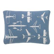 Flight Knitted Boudoir Pillow