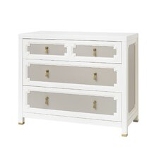 Vanderbilt 3 Drawer Dresser French Gray