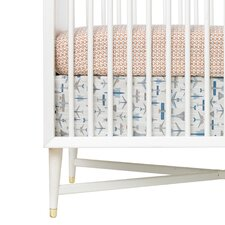 Flight Percale Crib Skirt