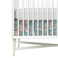 Posey Percale Crib Skirt