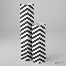 Chevron Diamond Vase