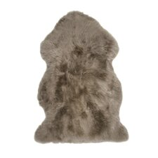 Sheepskin Taupe Area Rug