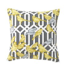 Aviary Trellis Pillow