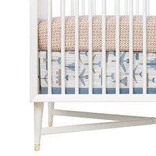 Flight Canvas Crib Skirt