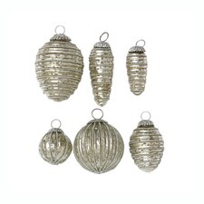 Pearly Mercury Ornament (Set of 3)