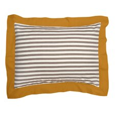 Draper Stripe Ash Sham (Set of 2)